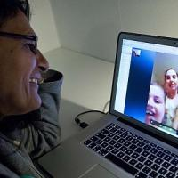 La video chat aiuta a guarire Skype per la terapia post ictus