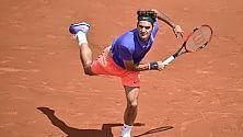 Fognini e Lorenzi ko Pennetta travolgente Federer senza problemi