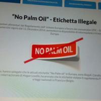 """A Expo è """"illegale"""" scrivere sulle etichette alimentari """"Senza olio di palma"""""""