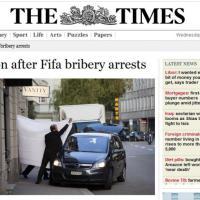 Fifa, scandalo corruzione: la notizia sui siti stranieri