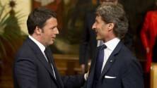 """Annuncio Renzi: """"Il Suv Lamborghini in Italia"""""""