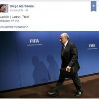 Maradona attacca ancora Blatter