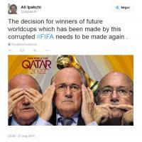 Scandalo Fifa, i social non perdonano: Blatter nel mirino