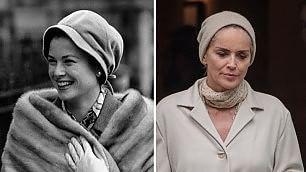 Moda, Jackie, Grace e Katherine Sharon Stone fa rivivere le dive
