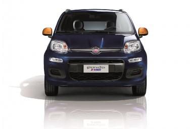 E la Fiat Panda indossa il K-Way