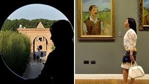 Atelier d'arte e maxi biblioteca Il labirinto più grande del mondo