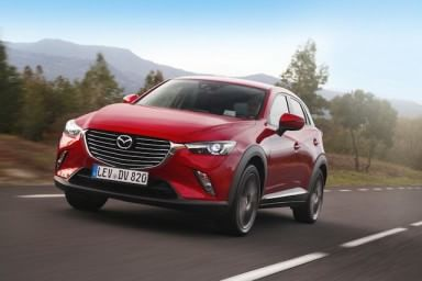 Mazda CX3, assalto alla vetta