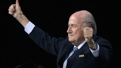"""Fifa, vince ancora Blatter   foto     E dalle carte Fbi  spunta  il nipote Philippe    Usa: """" In arrivo nuove accuse """""""