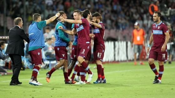 Napoli-Lazio 2-4: biancocelesti terzi, gli azzurri scivolano al quinto posto