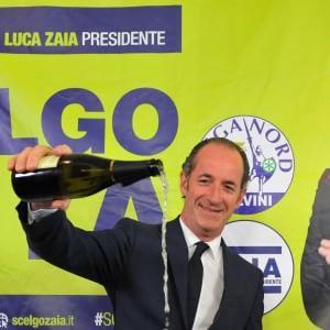 Veneto, Zaia riconfermato con oltre il 50%. Doppiata la Moretti