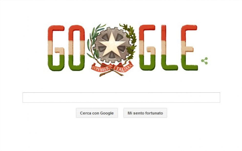 Festa della Repubblica, il doodle di Google