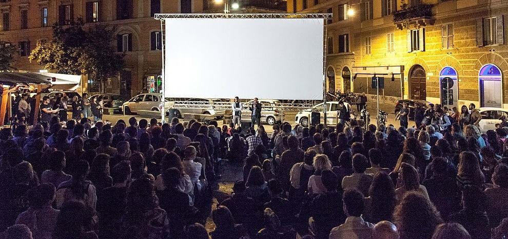 Cinema America, al via l'arena: tutti in piazza per due mesi di film gratis