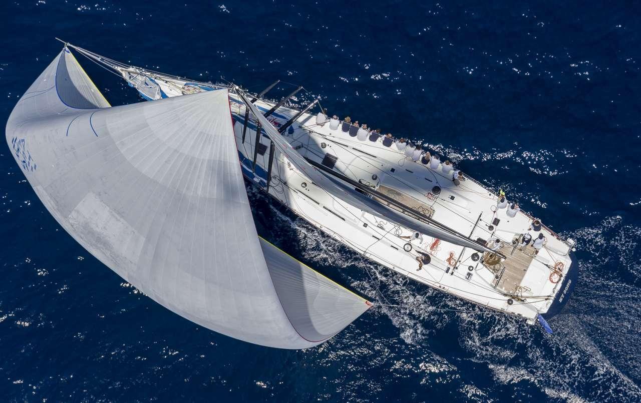 Loro Piana Day 1 Superyacht action
