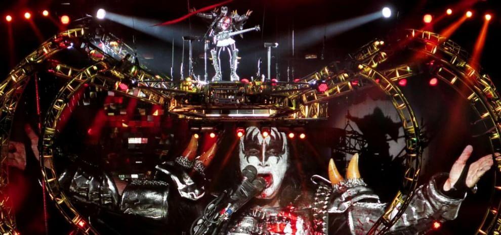 Vasco Rossi è ancora sul palco, i Kiss in Italia per un'unica data