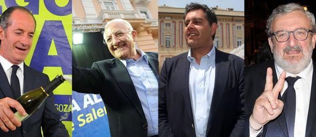 Regionali, finisce 5-2  /    speciale     /   i risultati     Pd perde Liguria, Lega avanti, successo M5S