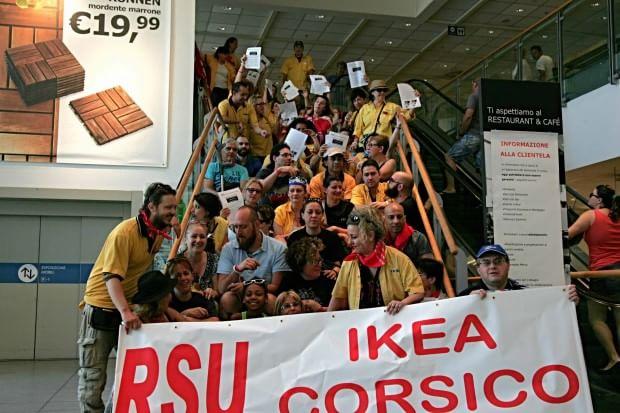 Ikea dipendenti in sciopero per la revoca dell 39 integrativo - Navetta per ikea corsico ...