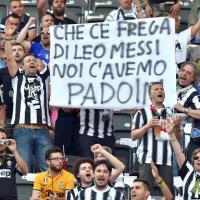 Juventus-Barcellona, lo spettacolo sugli spalti