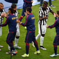 Juventus-Barcellona, il film della partita