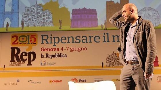 """RepIdee, Saviano e i giornalisti coraggio: """"Sosteniamo chi denuncia"""""""