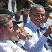 G7, colazione bavarese per Obama e Merkel