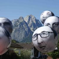 G7, l'arrivo dei leader a Garmisch-Partenkirchen