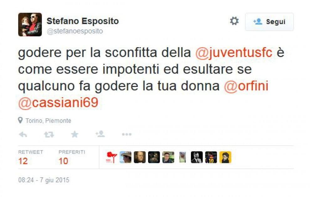 Finale Champions, polemiche sul tweet del senatore Pd Stefano Esposito