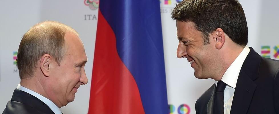 """Dall'Expo a Roma, la lunga giornata di Putin: """"Sanzioni dannose, impediscono di collaborare"""""""