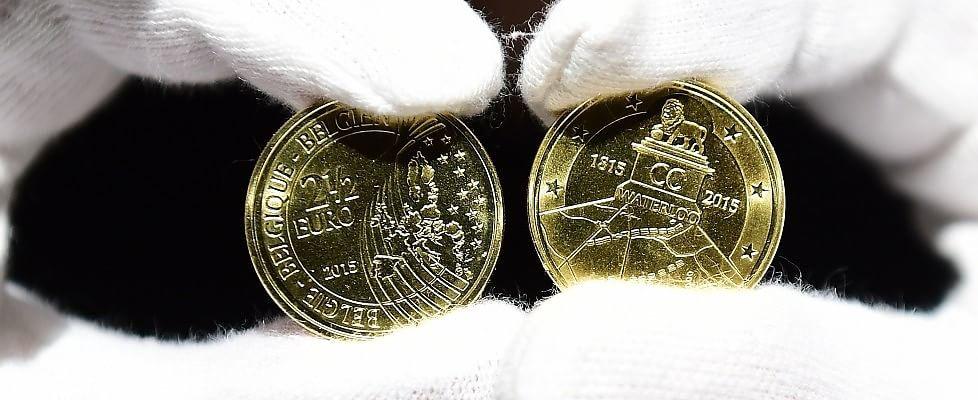 Waterloo mette in crisi l'Ue: il Belgio conia una moneta da 2,5 euro