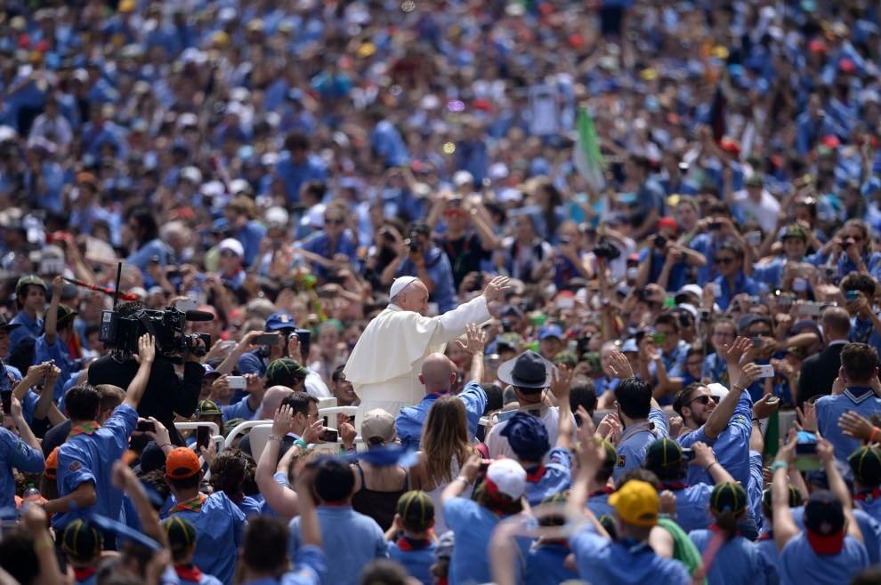 Gli scout in Vaticano: da tutta Italia per l'incontro col Papa