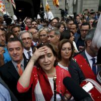 Barcellona e Madrid, festa per le sindache 'indignate'