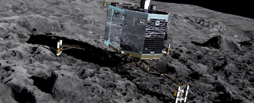 Missione Rosetta, il robot Philae si 'risveglia' e contatta la Terra