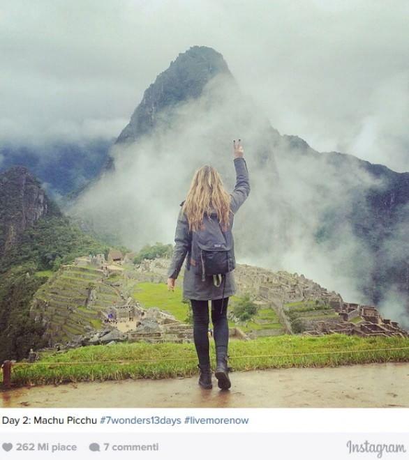 Scopre di avere il cancro: in 13 giorni visita sette meraviglie del mondo