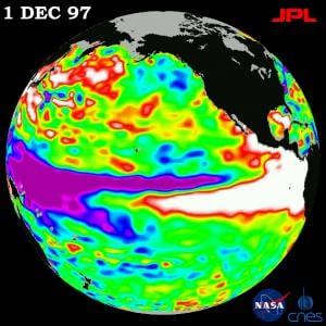 2015, torna El Ni�o: porter� alluvioni e caldo record