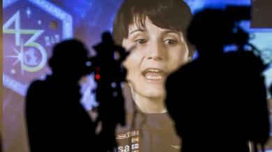 """Cristoforetti parla da Houston """"I miei 200 giorni nello spazio"""""""