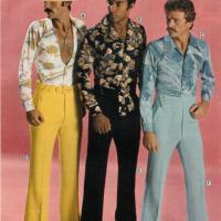 Vestiti Eleganti Anni 70 Uomo.Anni 70 Vita Alta Gilet Di Lana E Tutine L Uomo Si Sentiva