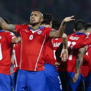 Coppa America: super Vidal non basta, il Messico ferma il Cile
