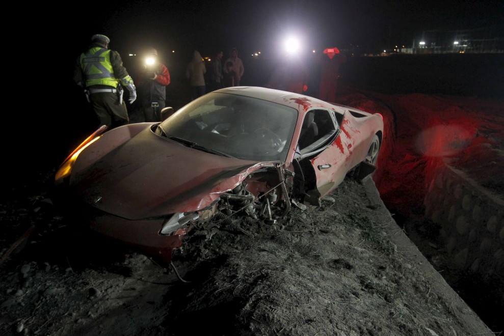 Incidente d'auto per Vidal: arrestato per guida in stato d'ebbrezza