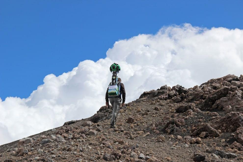 Street View arriva sull'Etna: così Google festeggia il sito Unesco