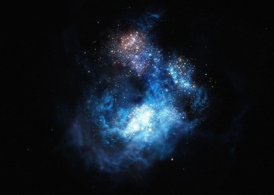 Scoperta galassia remota più brillante, si chiama CR7 in onore di Ronaldo