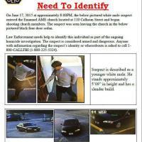 Strage Charleston, le prime immagini dell'omicida diffuse dalla polizia