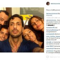 Fabrizio Corona, il selfie dopo la scarcerazione