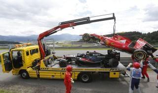 """F1, Alonso: """"Non ho colpe per l'incidente con Raikkonen"""""""