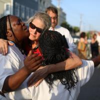 Charleston: la prima funzione in chiesa dopo la strage