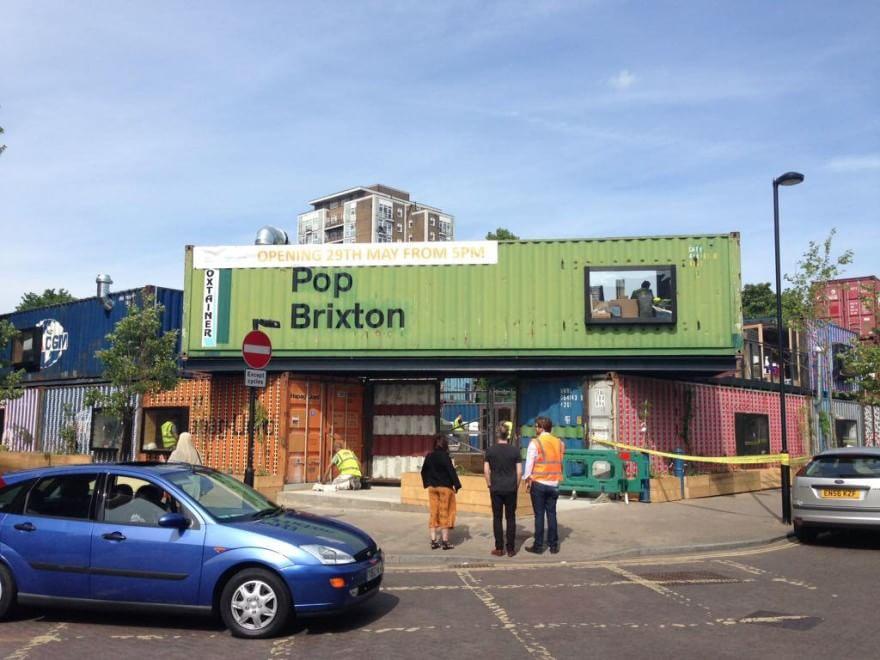 Gb, rivoluzione container: ora ospitano negozi e street food