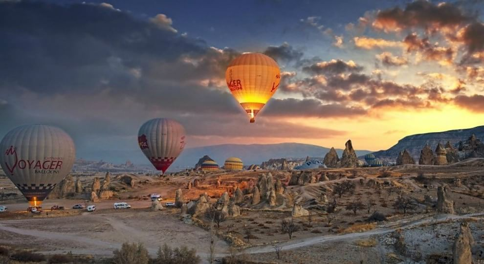 Cappadocia, sopra i Camini