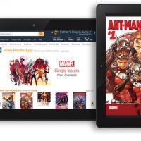 Accordo Amazon-Marvel: 12mila fumetti disponibili su Kindle Store