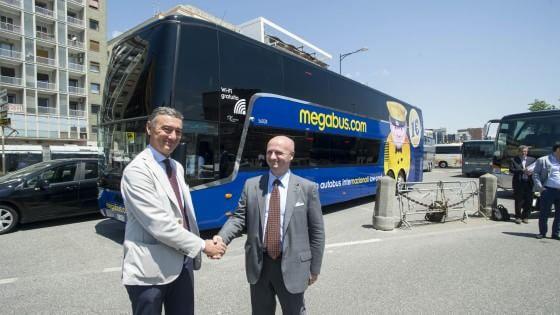 Megabus, record di biglietti per gli autobus low-cost. Via al servizio