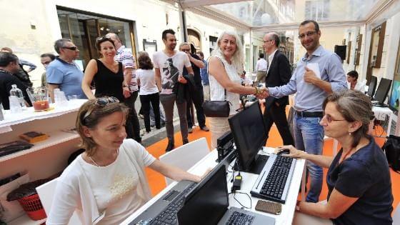 Ufficio Moderno Pesaro : Smart working a pesaro l ufficio comunale è a cielo aperto