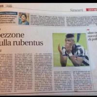 """Gaffe di 'Leggo', in stampa con titolo provvisorio: la Juve diventa """"Rubentus"""""""