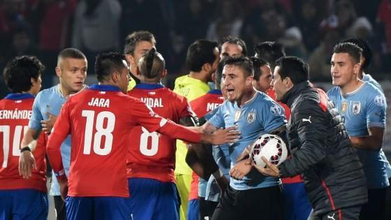 Coppa America, Cile batte Uruguay 1-0 e vola in semifinale